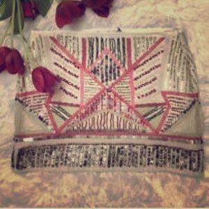 Zara tribal mini skirt